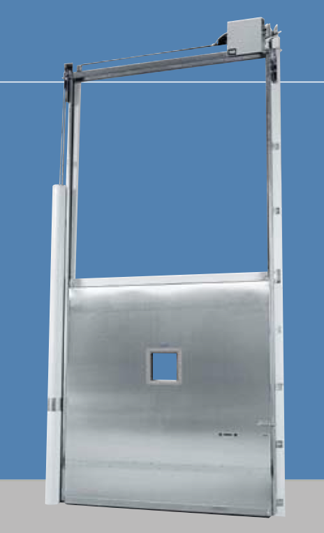 Hercules Heavy Duty Vertical Sliding Door