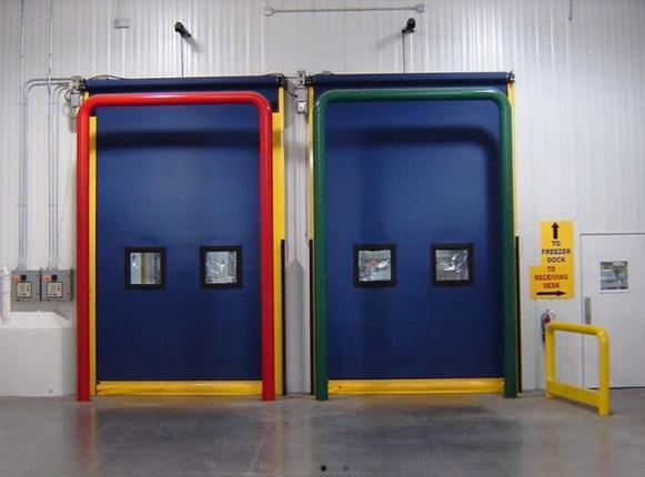 Ideal for High Traffic Cold Storage Applications Use Albany Ultra Cool High-Speed Door in Brampton, Ontario