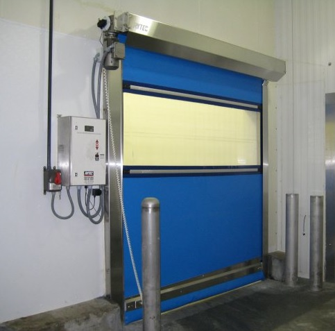 How Pharmaceutical Company Facilities benefited from Installing a Rytec CR5000 Clean Roll Door in Austin, TX