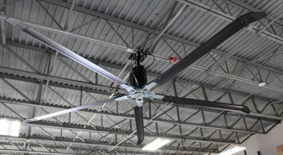 How a SERCO ATEC HVLS Fan Keeps a Large Warehouse Cool Year-Round in Metairie, LA