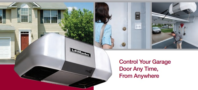 What are the Three Types of LiftMaster Garage Door Openers and Their Functions for Residential Property in Phoenix, AZ?