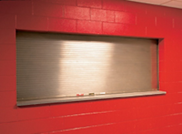Why Choose Overhead Door- Model 641 Stainless Steel Rolling Fire Counter Door for Cafeterias & Retail Settings