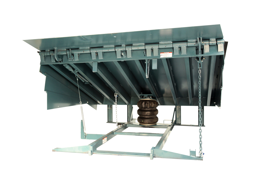 Features and Qualities of McGuire® CentraAir® (CA) Air-Powered Dock Leveler