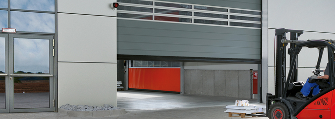 Why Choose Hormann-Flexon High-Speed Fabric Doors in Demanding Industries such as Manufacturing, Paper mills, Steel Plants, Airports, Distribution, and Transit in Jacksonville, Orlando & Tampa, Florida?