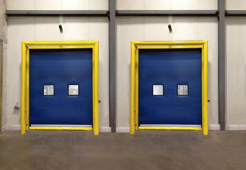 Rytec High-Performance Fabric Door in Austin, Texas