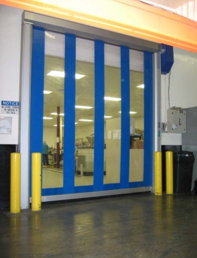 Albany Model 355 High-Speed Door in Fort Myers, FL Offers Climate Control and Visibility for Fast Moving, Industrial and Commercial Applications