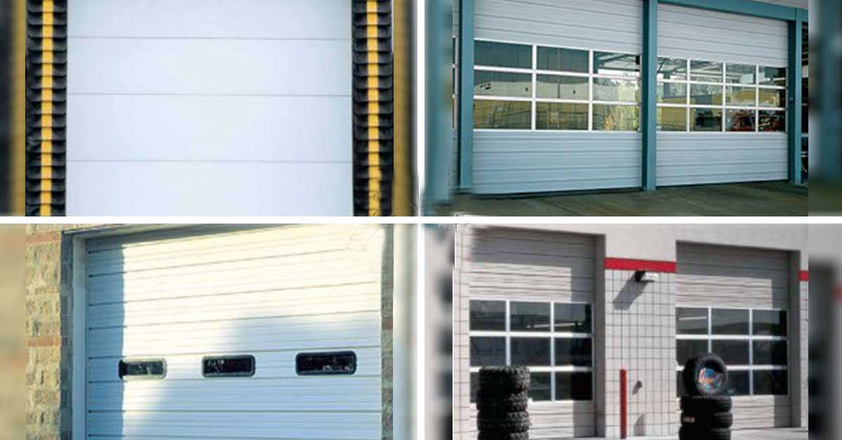 Overhead Door – Non-Insulated Sectional Doors in Charlotte, NC for Heavy-Duty Commercial and Industrial Applications