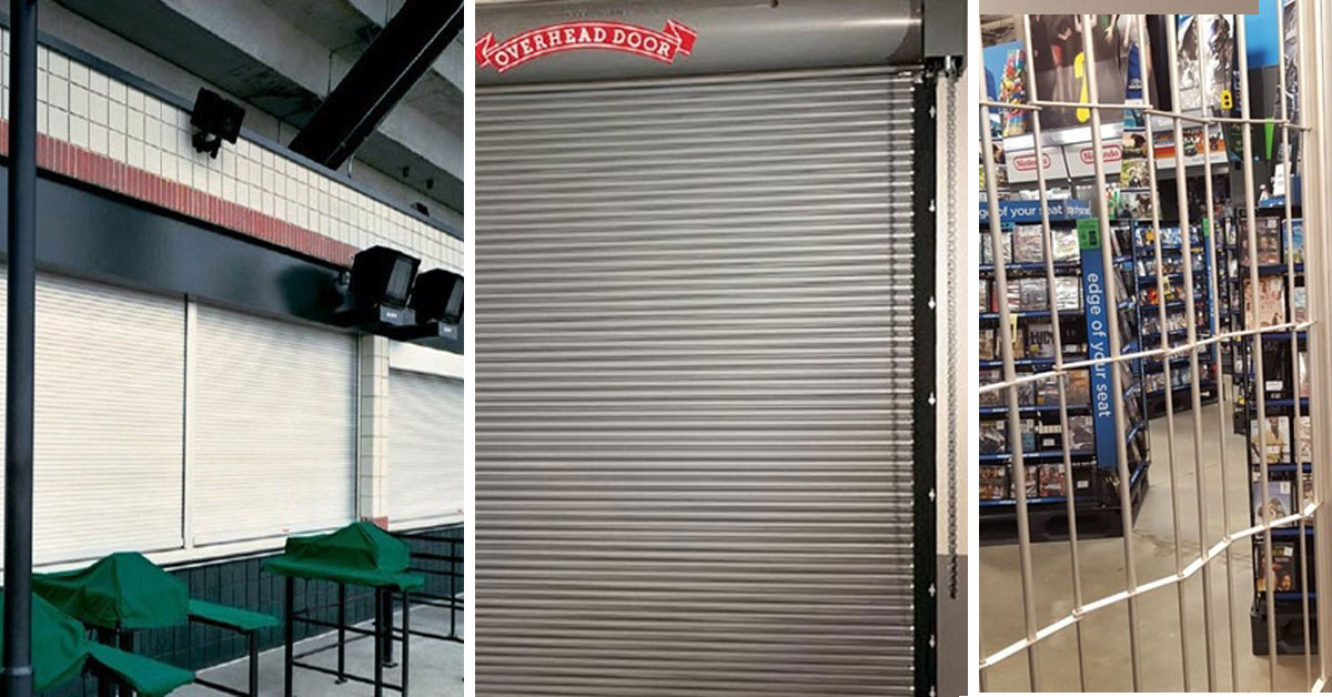 Rolling Steel Doors for Commercial Buildings and Self-Storage Business in Toronto, Canada