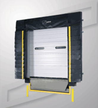 Serco S3000HL L-Pad Dock Seal with Head Curtain